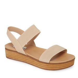 STEVE MADDEN Agile Platform Sandal Blush NWT 10
